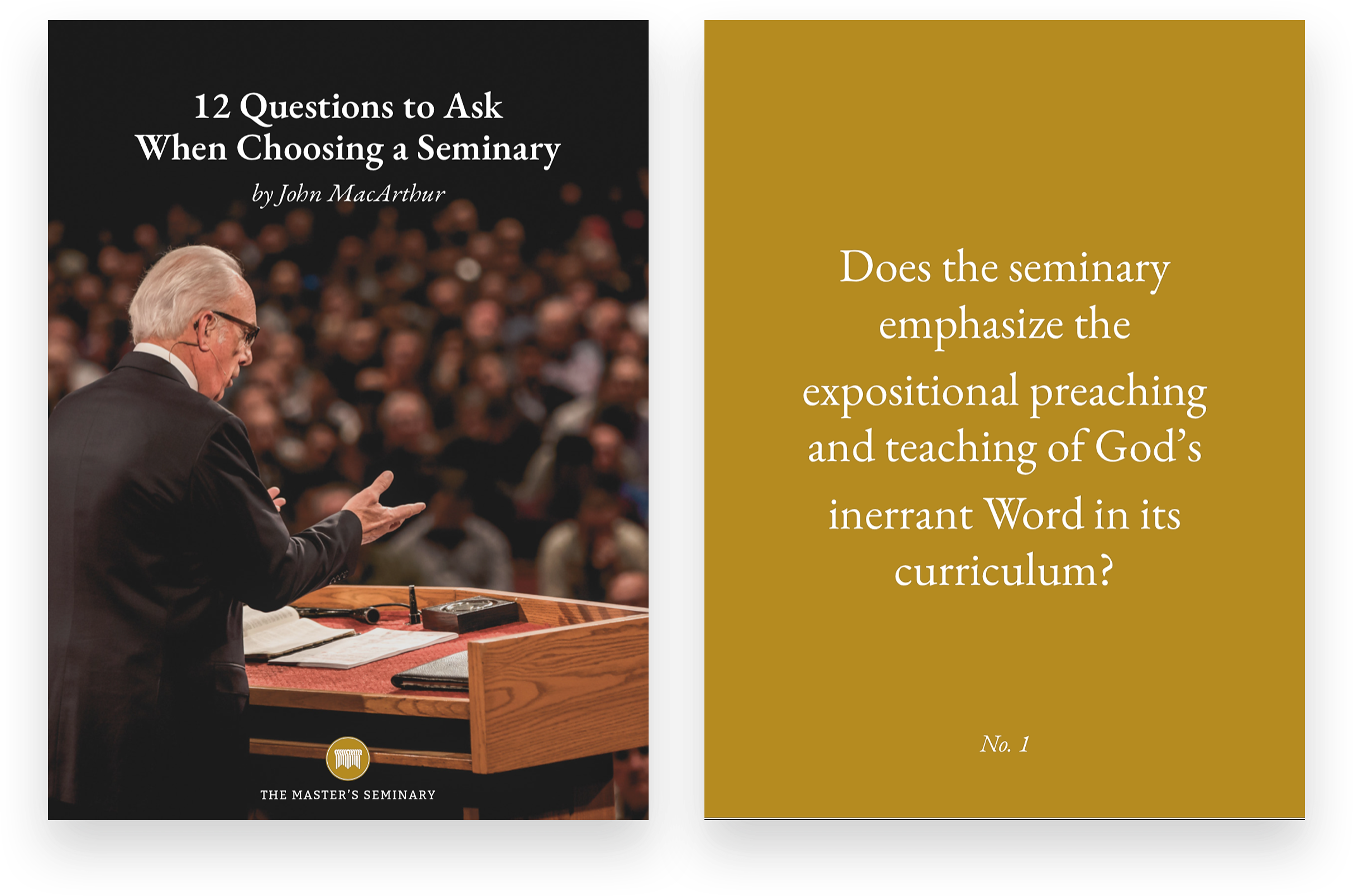 12 Questions to Ask When Choosing a Seminary
